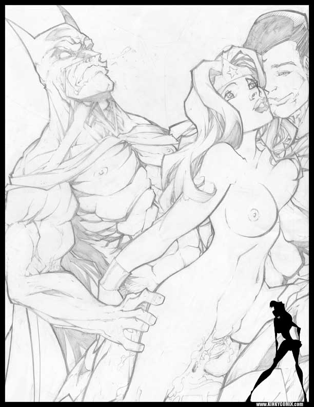 hentai and woman wonder superman Pretty x cation 2 the animation