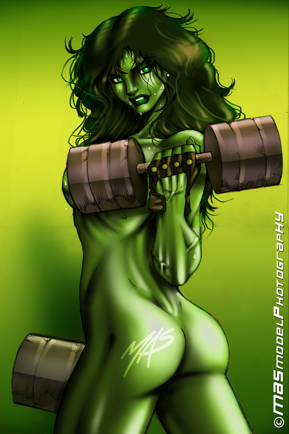 and porn hulk hulk she How to draw a realistic penis