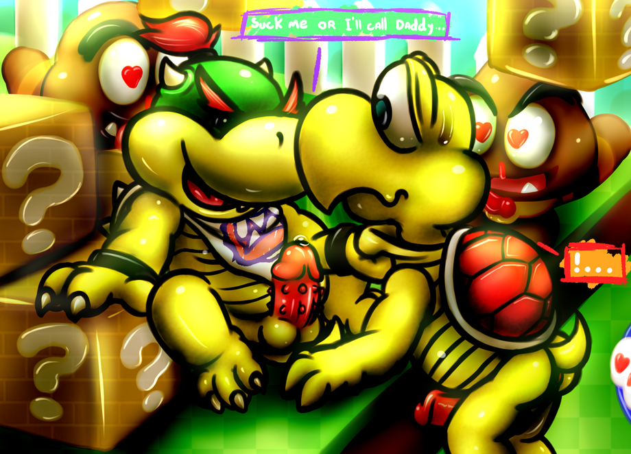 jr day bowser a with Monster girl quest lose and be raped