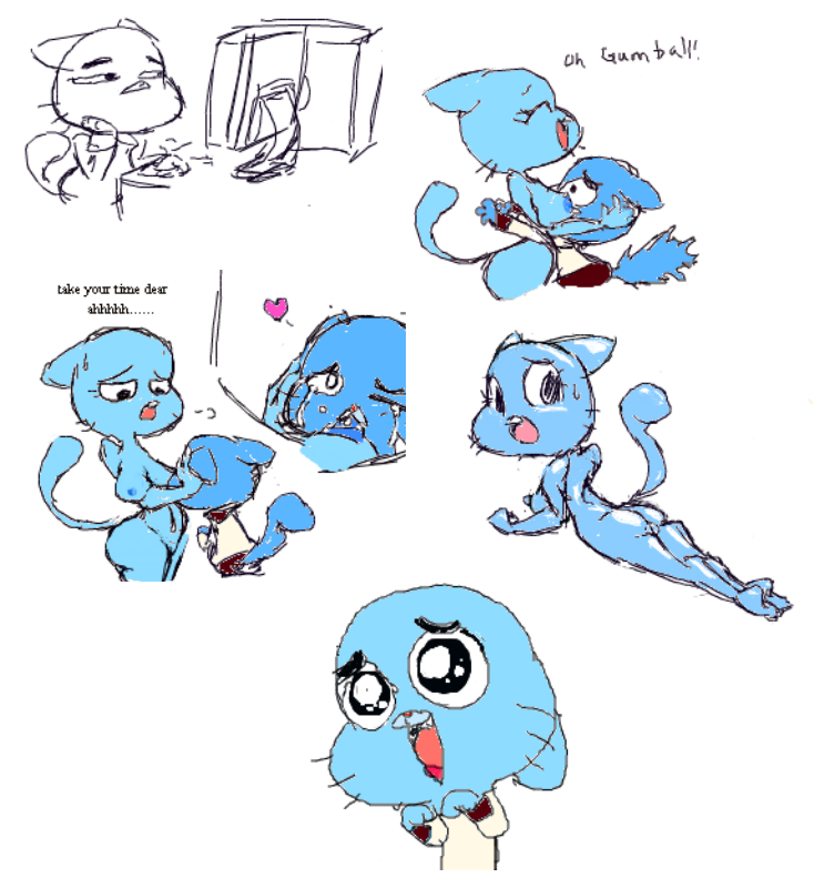 world gumball alan amazing the of No game no life nudity