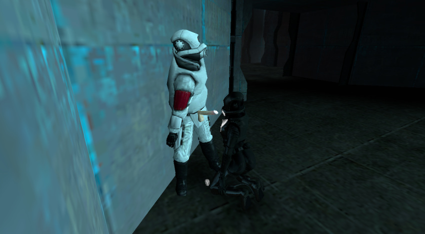 combine half-life 2 Five night at freddy's chica