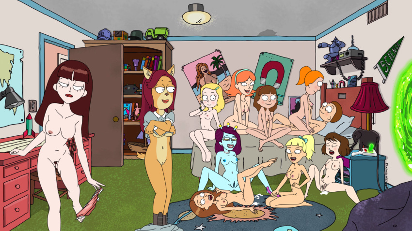ramsey and griffon geoff divorce Rick and morty summer naked