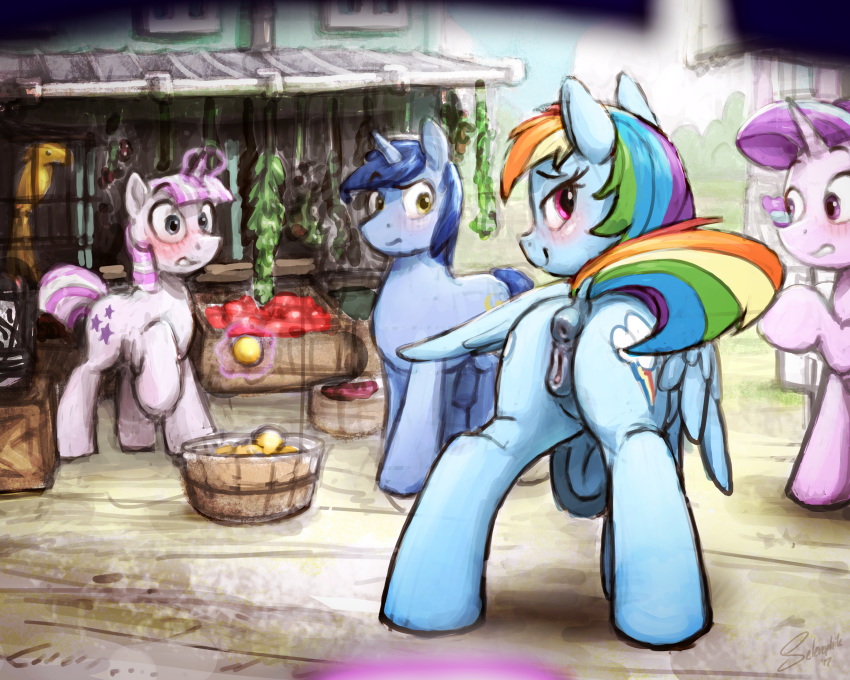 dash soarin and mlp rainbow Justice league action